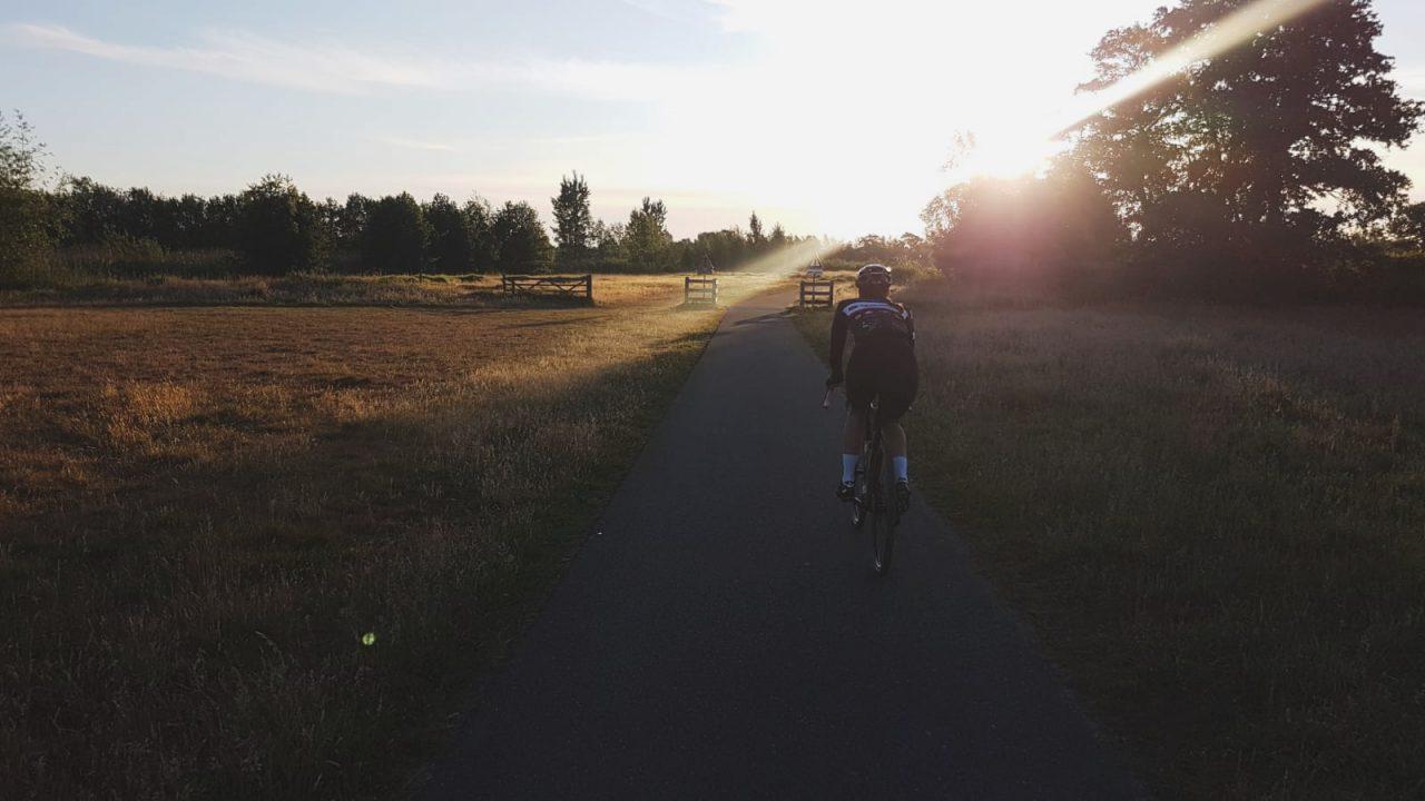 eten lange fietstocht Dirty Kanzelled