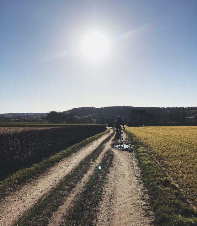 de mooiste gravelroute van Limburg