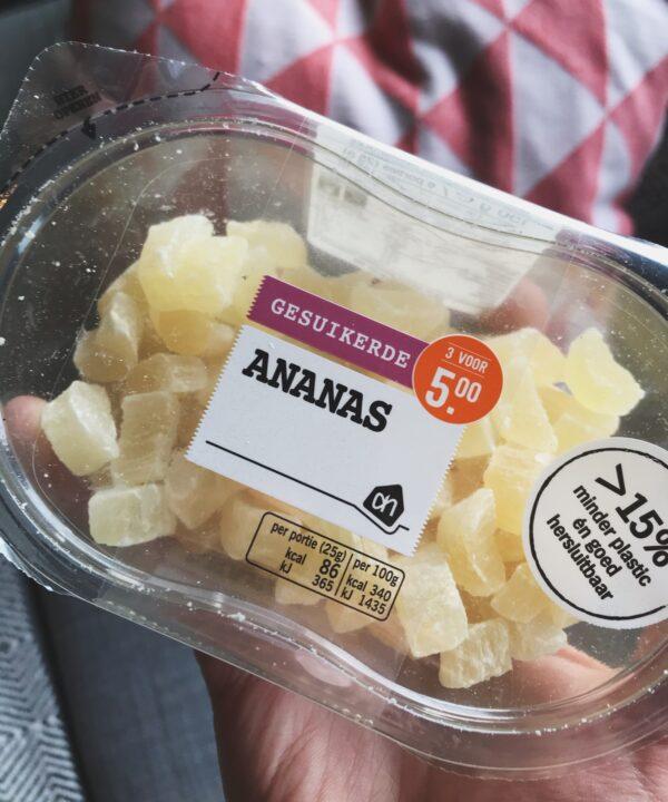 ananas voor rijstcake